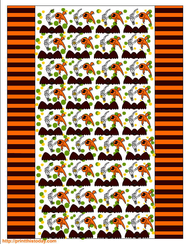 bat candy bar wrapper template - free printable halloween candy wrappers