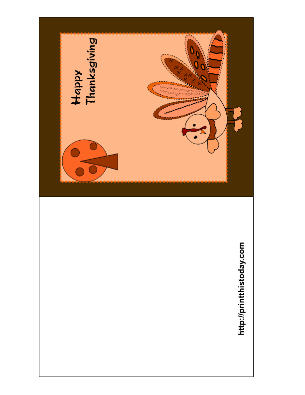 This is a picture of Simplicity Free Printable Thanksgiving Cards