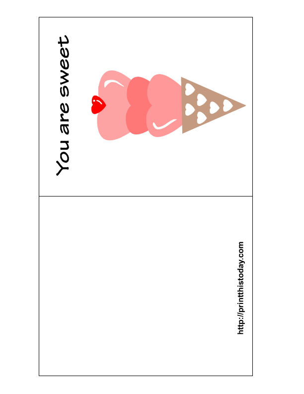 Free Printable Valentine Day Greeting Cards: printthistoday.com/free-printable-valentine-day-greeting-cards