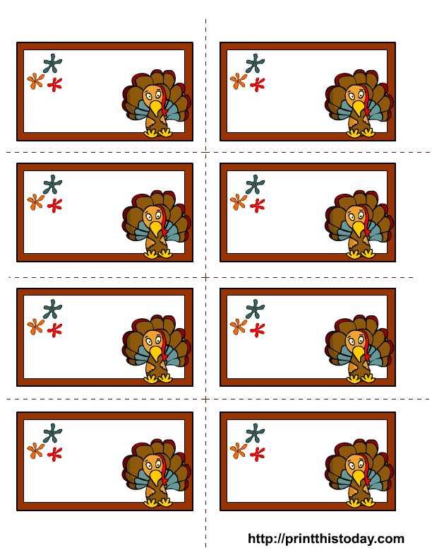 picture about Free Printable Thanksgiving Tags titled Absolutely free printable thanksgiving labels
