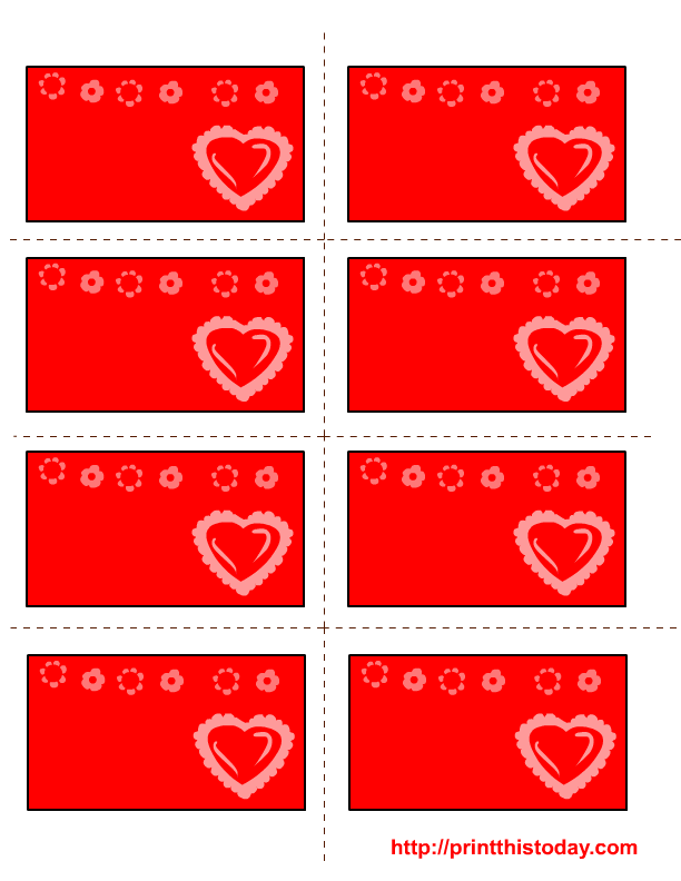 image relating to Valentine Labels Printable identified as Free of charge printable Valentine labels with study centre and bouquets