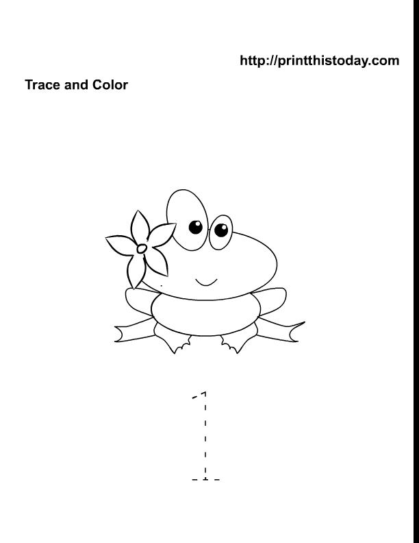 Free Printable Spring Flowers Math worksheets for Preschool – Kindergarten 1 Worksheets