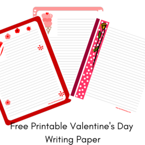 Free Printable Valentine's Day Writing Paper