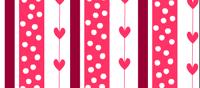 Pink Hearts and Polka dots