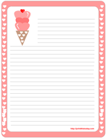 Sweet Valentine Stationery