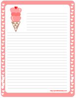 Sweet Valentine Stationery