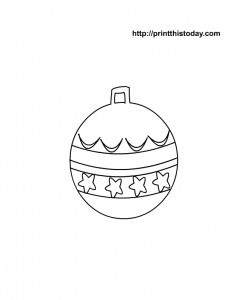 Christmas Ornament Printable