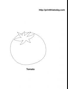 trace a tomato