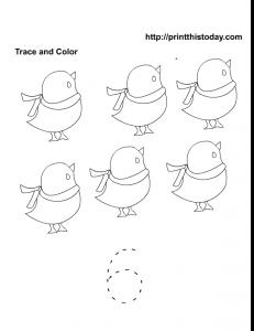 Preschool maths worksheet