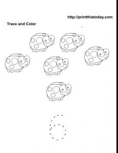 Free printable math worksheet for number 6