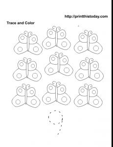 free printable number 9 math worksheet