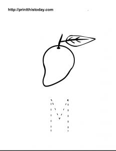 Big letter M