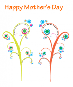 Funky Card for Mom