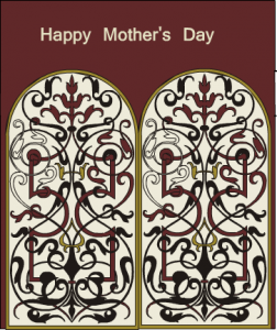 Elegant and classic mother's day card printable