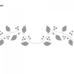 Christmas Vina Stencil