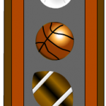 Sports ball bookmarks