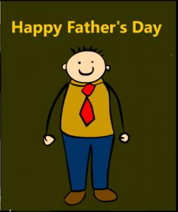 Cartoon Fathers day Card