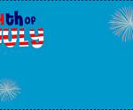 Free printable fourth of July Invitation