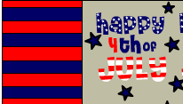 Happy 4th of july candy wrappers