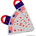 American Flags and Stars
