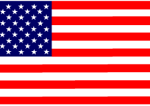 US flag labels