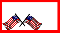 Twin Us flags labels