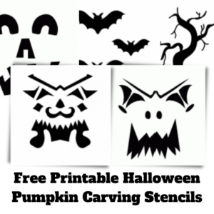 7 Free Printable Halloween Pumpkin Stencils