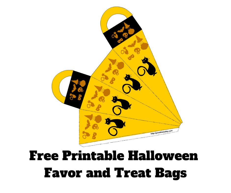 Halloween Favor, goodies, and treat bags