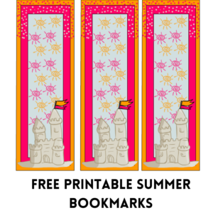 Free Printable Summer Bookmarks