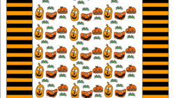free printable halloween candy wrapper with monsters