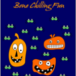 Bone chilling fun Halloween Card