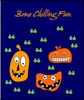 Bone chilling fun Halloween Card