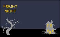 Fright night Party Invitation