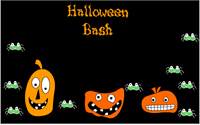 Halloween Bash free printable Invite