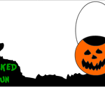 Wicked fun Halloween party invitation template