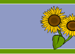 free printable labels with sun flowers