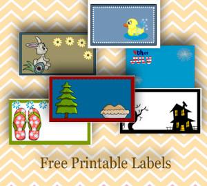 free printable labels