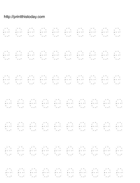Free printable alphabet tracing worksheets a, b, c, d, e, f