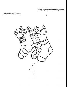 4 stockings Christmas math