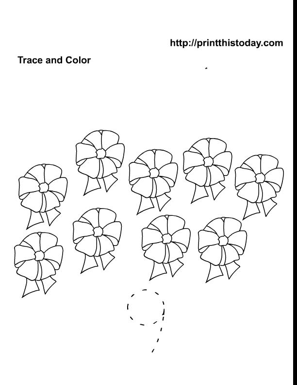 free printable maths worksheet with number 9. Black Bedroom Furniture Sets. Home Design Ideas