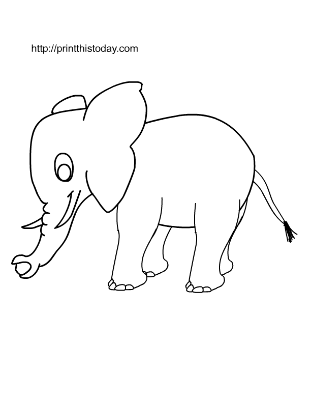 free printable wild animals coloring pages 2. Black Bedroom Furniture Sets. Home Design Ideas