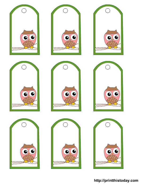 babytag2 Baby Shower Favors Owls