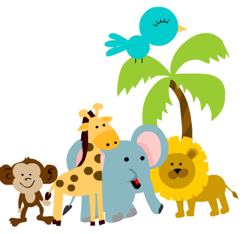 It's just a picture of Fan Free Printable Jungle Animals