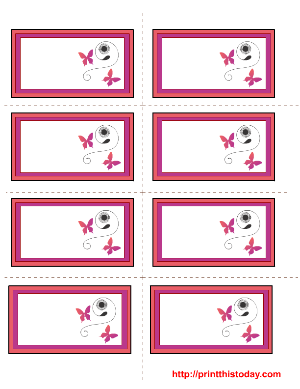 Free Mothers Day Labels Templates - Cupcake name tag template