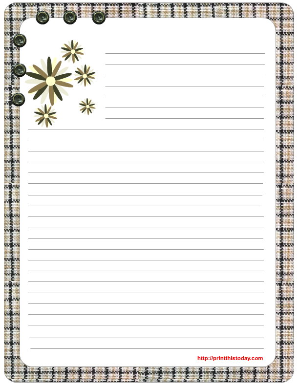 free holiday stationery templates - free mother 39 s day stationery printables