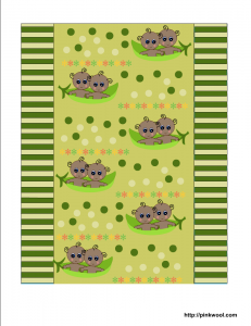 Free printable baby shower candy wrapper with African American twin babies