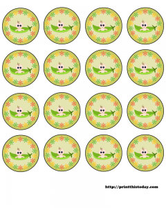 Free Printable Pea Pod Baby Shower Labels
