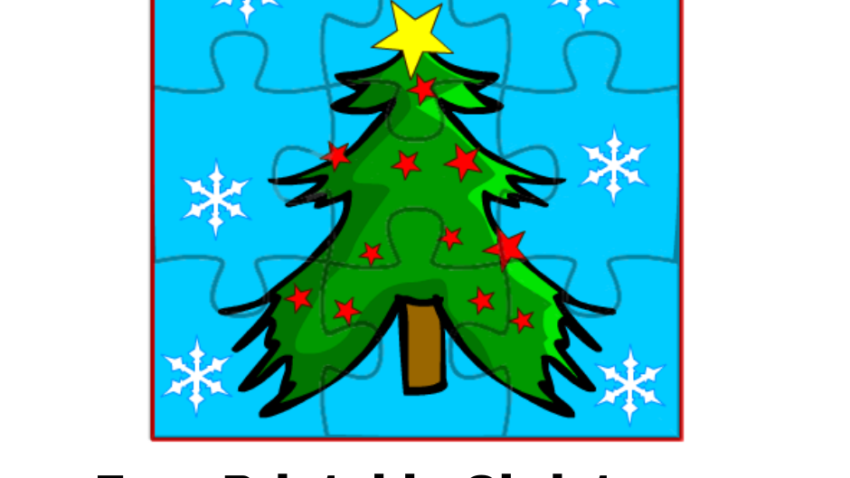 Free Printable Christmas Jigsaw Puzzles