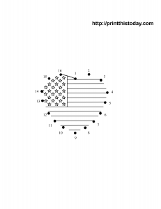 Free printable 4th of july dot to dot
