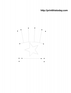 Free printable dot to dot